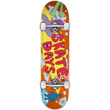 Skate Days Monsters Complete Skateboard