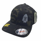 ACC Black MultiCam Fitted Hat