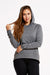 Women's FLUID Sueded Jersey Hoodie