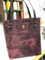 Full Grain Aniline Leather Tote Bag