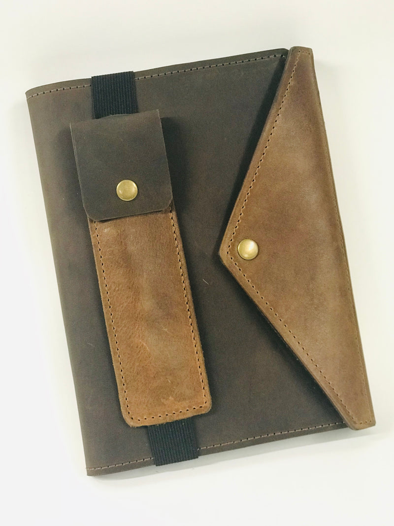 A5 Journal Notebook Full Grain Leather