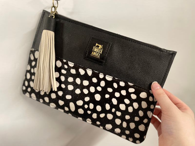 Animal Print Medium Clutch