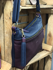 Classic Shoulder Bag -  With Crossbody Option