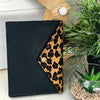 A6 Animal Print Leather Journal Notebook