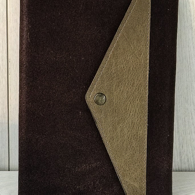 A6 Full Grain Leather Journal Notebook