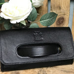 Grab Handle Clutch - Leather