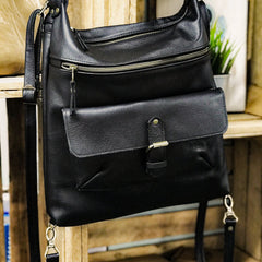 Large Multi-way Bag With  Front Buckle Pocket