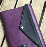 A5 Coloured Leather Journal / Notebook / Diary / Planner Cover