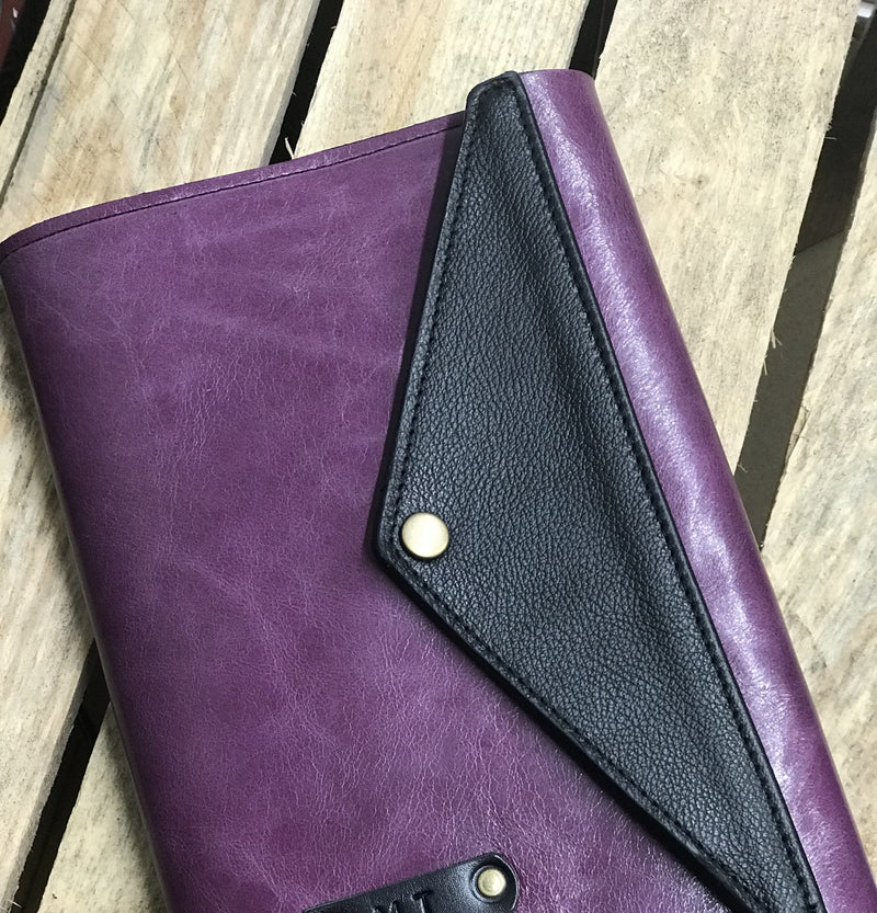 A6 Coloured Leather Journal Notebook Cover