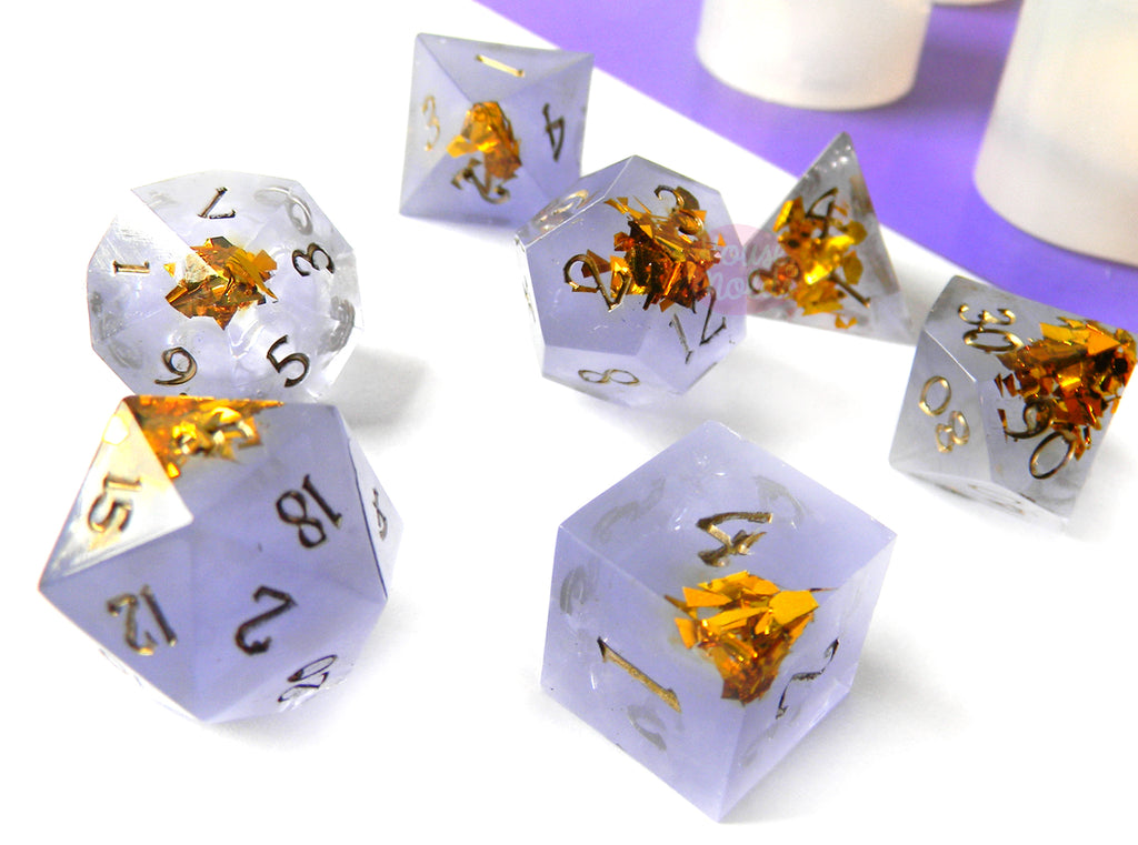 DICE AND GAMES MOLDS
