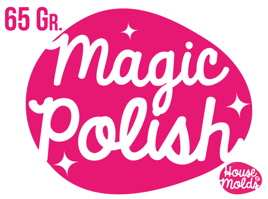 Magic Polish for  Resin 65 gr,Medium size-Make your resin pieces Shine-