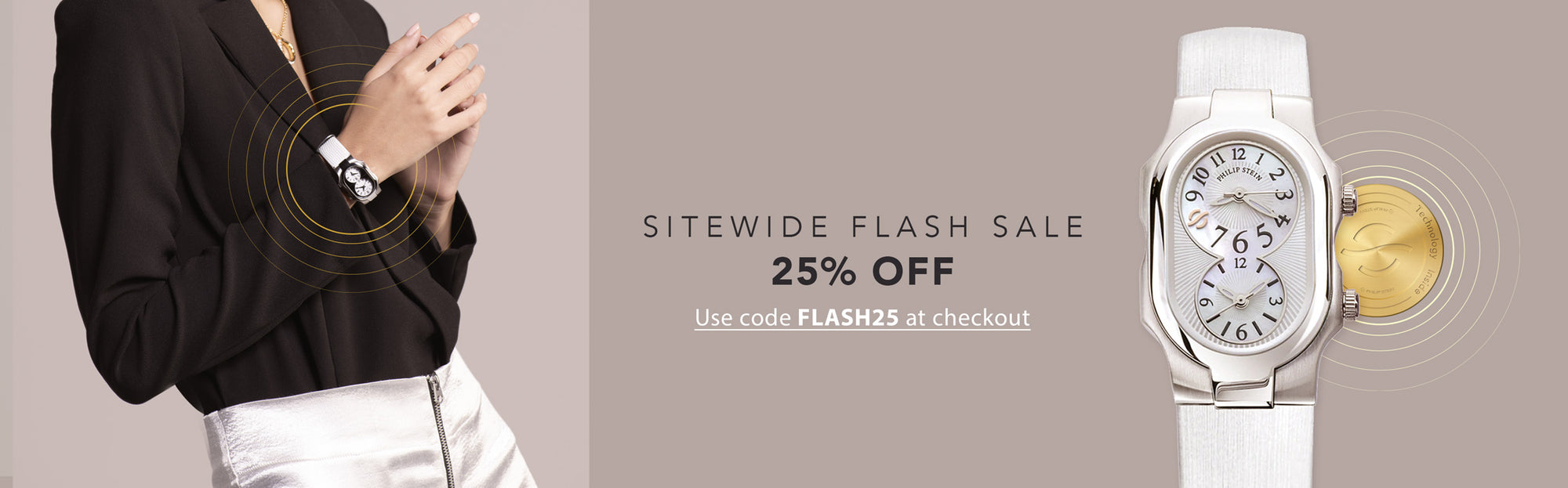 Sitewide Flash Sale 25% OFF - Use Code FLASH25 at checkout