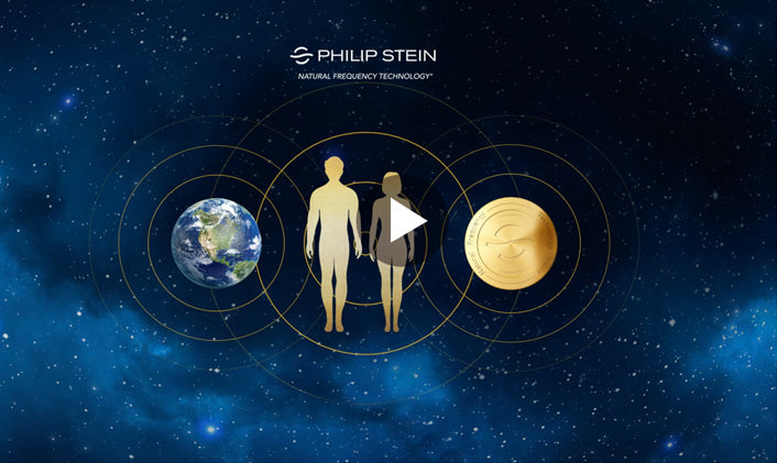 Philip Stein Natural Frequency Technology  watch with Natural Frequency Technology Waves Universe Planet Earth Frequency Disc