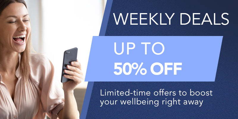LIMITED-TIME OFFERS TO BOOST YOUR WELLBEING RIGHT AWAY