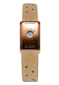 Classic sleep bracelet with a beige strap