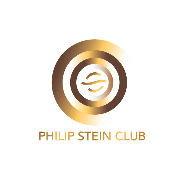 Philip Stein Club  - White Blue Background