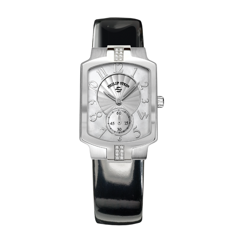 Classic Square 28 x 39mm Mother of Pearl Watch - Model 21SD-FMOP-IBG