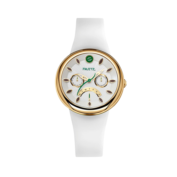 Alpine White Ladies Watch - Fruitz Collection
