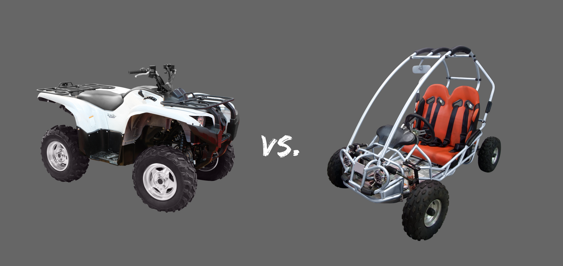Side By Side Utv >> ATV or UTV: A Quick Look at the Different Benefits of Each - LongRamps.com
