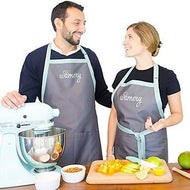 Bib & Wist APRON Set with Pockets, Unisex. Become a Chef