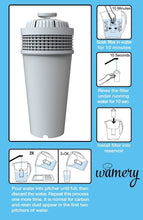 Purifier Water filter Replacement, Fits Wamery & Brita Pitcher