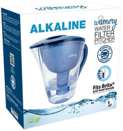Alkaline Water Pitcher 8 cups. Reduces Harmful and increase PH to 8.5 - 9