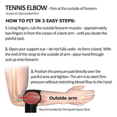 Tennis/Golfers Elbow Support by Harley Street Solutions