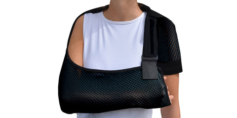 Adult Arm Sling Xtra Deep with Anti Neckache Feature by Harley Street Solutions