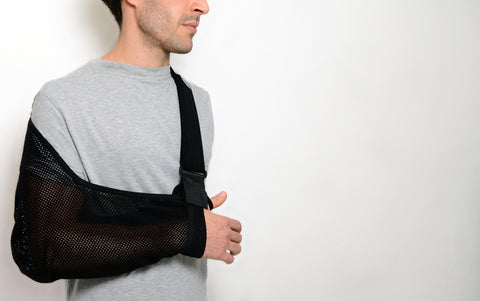 Adult Arm Sling/Xtra Deep Standard Style by Harley Street Solutions