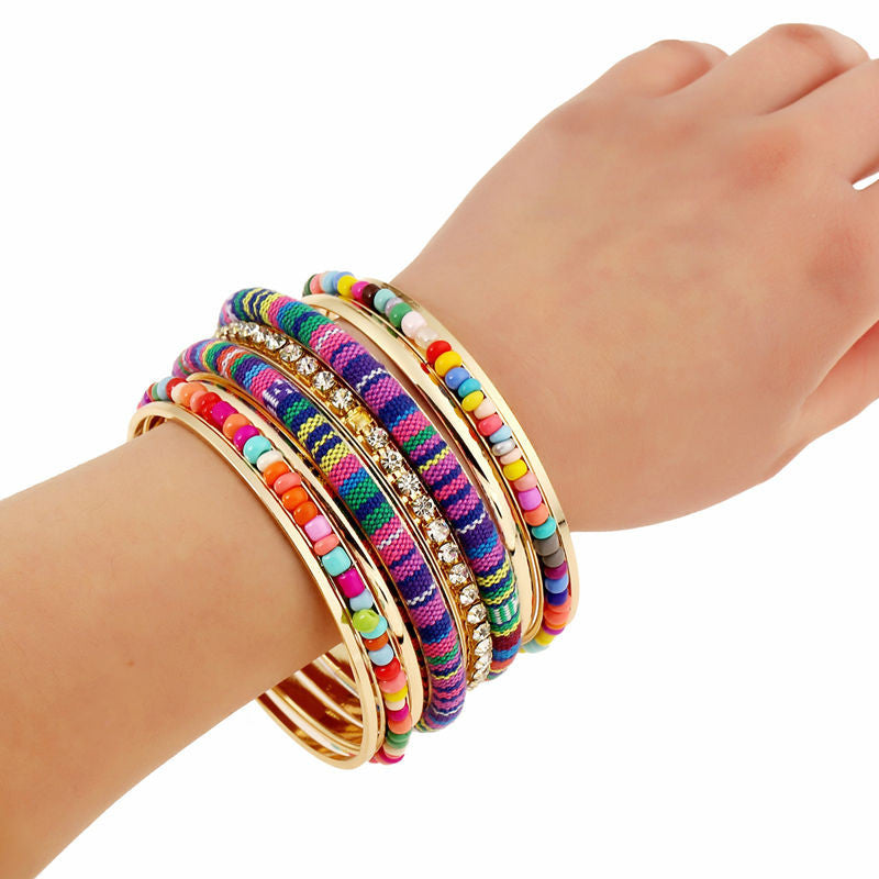 Assorted Bengal Hand-Crafted Bangles | My Spiritual Jewelry