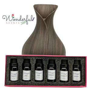 Wonderful Scents Black Label Essential Oil Gift Box Set