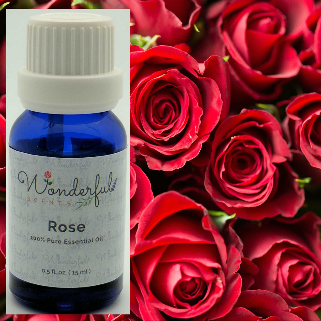 Rose Essential Oil Recipes