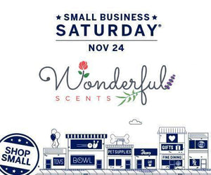Wonderful Scents Small Business Saturday #Shopsmall