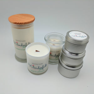 The Descriptive Aromas of our Wonderful Scents Soy Candles