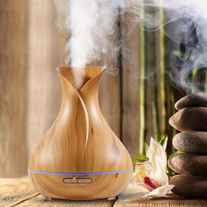Wonderful Scents 400 ml Essential Oil Light Wood Diffuser