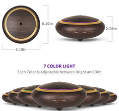 Wonderful_Scents_150ml_Dark_Wood_Essential_Oil_Diffuser_LED_Lights
