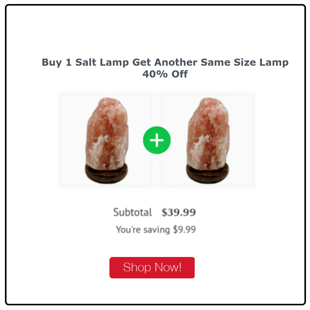 Wonderful Scents Himalayan Salt Lamp Sale