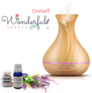 Oneself Wonderful Scents Vase and Oils Lavender