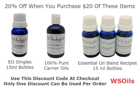 Wonderful Scents Essential Oil Sale Coupon