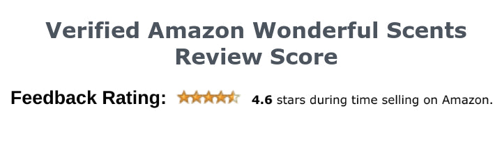 Verified Amazon Wonderful Scents Review Score