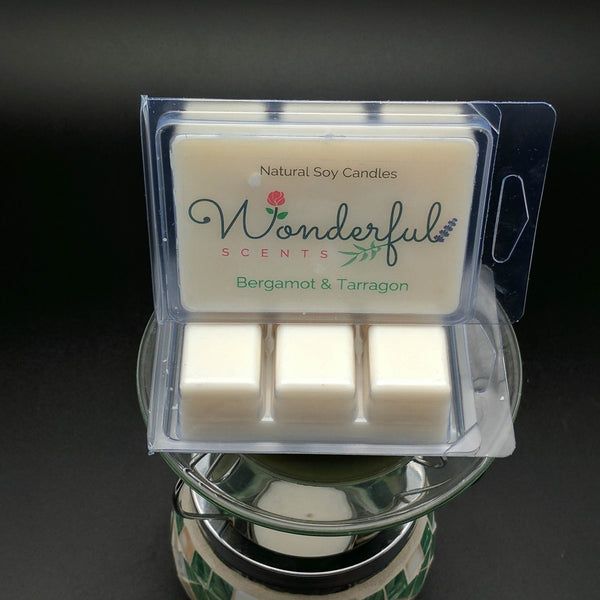 Bergamot and Tarragon Soy Wax Melt