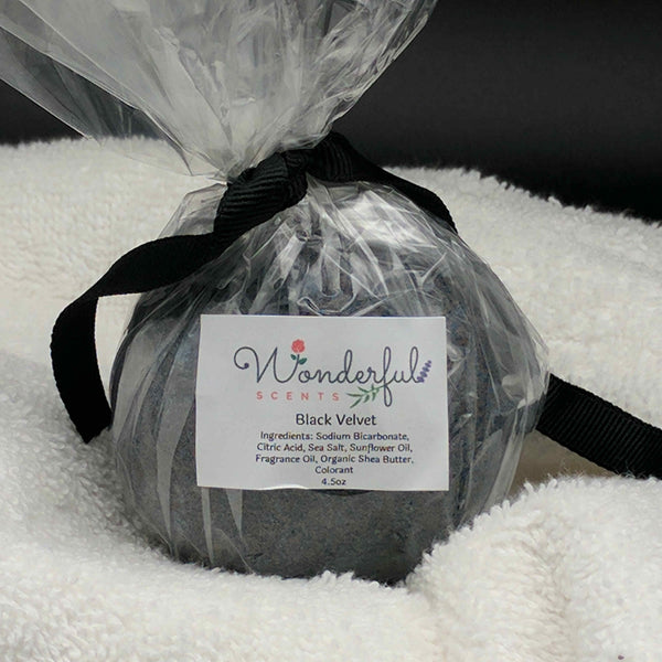 Black Velvet Bath Bomb 4.5oz