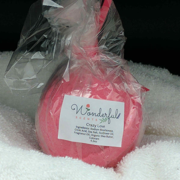 Crazy Love Bath Bomb 4.5oz