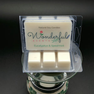 Eucalyptus and Spearmint Soy Wax Melt