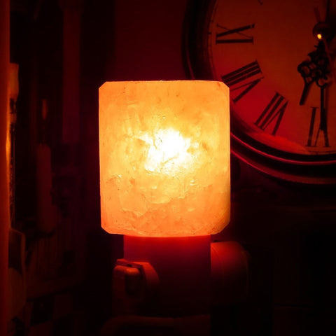 Himalayan Salt Night Light Amber Glow