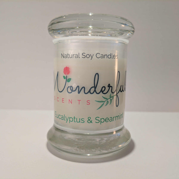 Soy Wax 2.75 oz Status Jar Scented Eucalyptus and Spearmint