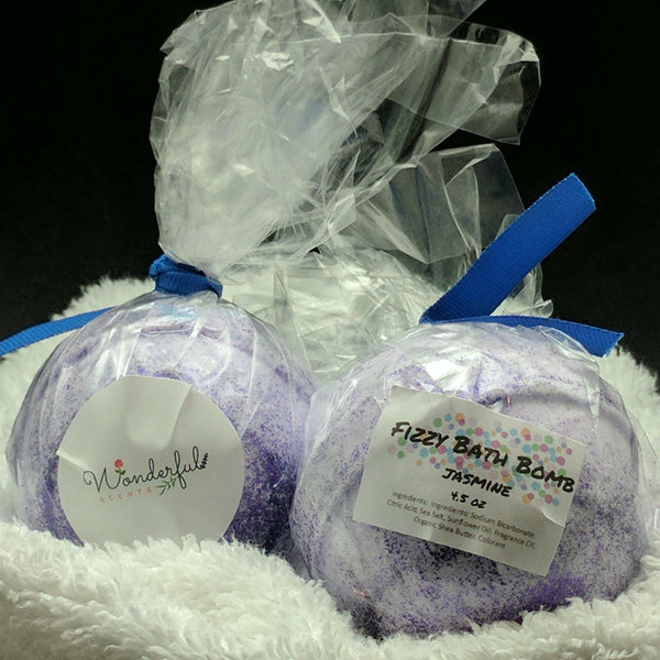 Jasmine Bath Bomb 4.5oz Two Pack