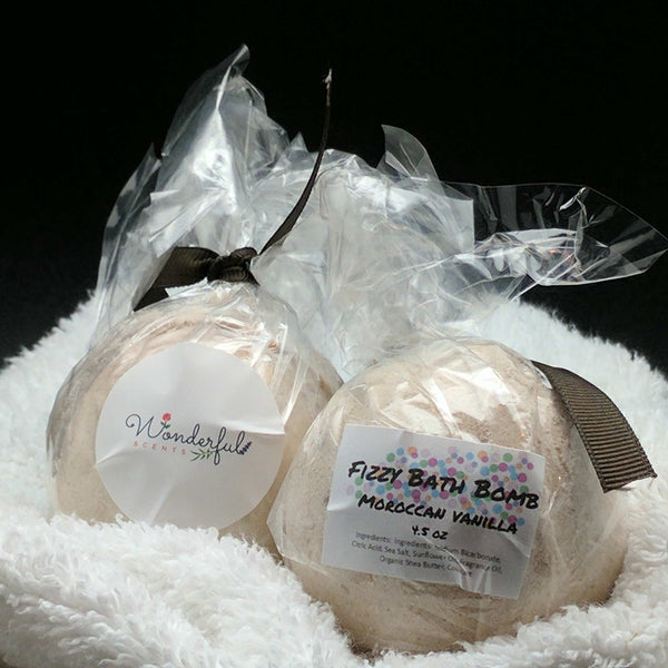Moroccan Vanilla Bath Bomb 4.5oz Two Pack