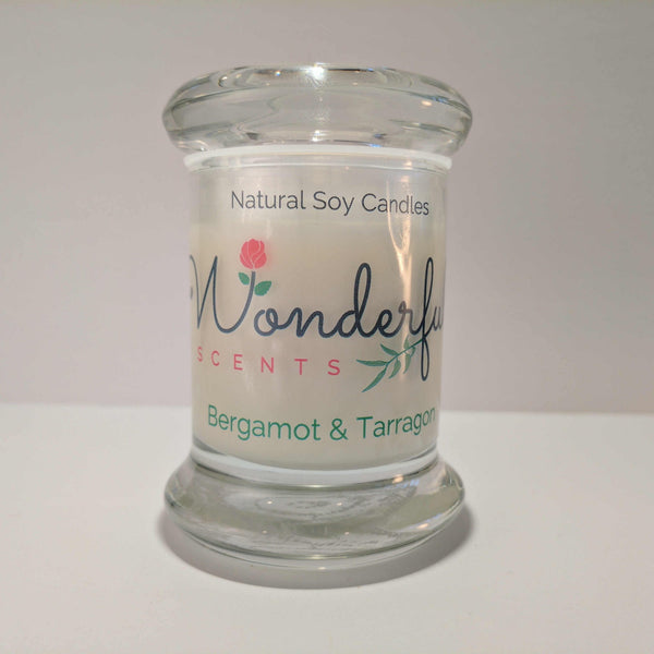Soy Wax 2.75 oz Status Jar Scented Bergamont and Tarragon