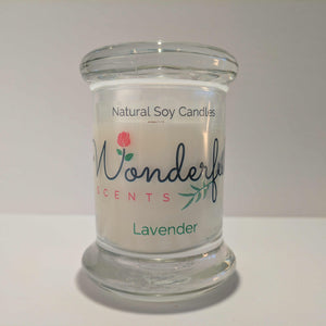 Soy Wax 2.75 oz Status Jar Scented Lavender